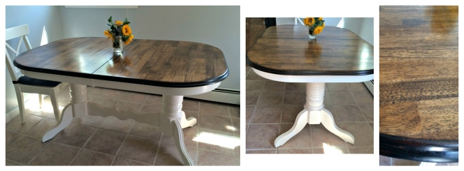 Country Kitchen Table Renovation