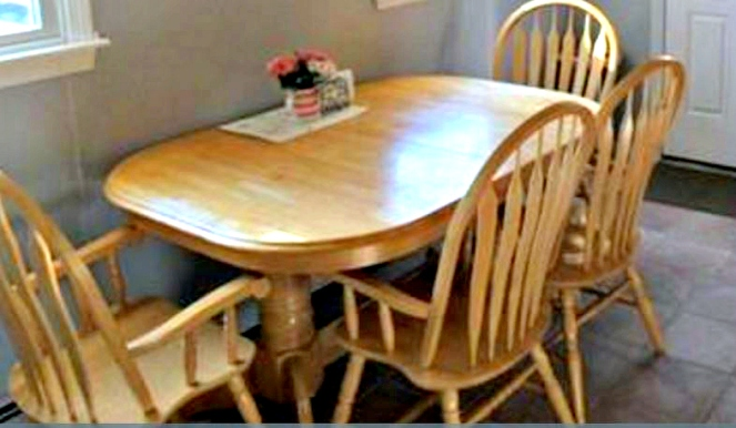Viva Las Diy Diy Kitchen Table Makeover