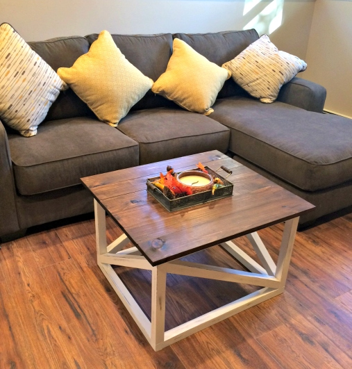 build your own coffee table | top-tuto