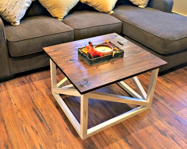 Diy coffee table for Make your own end table